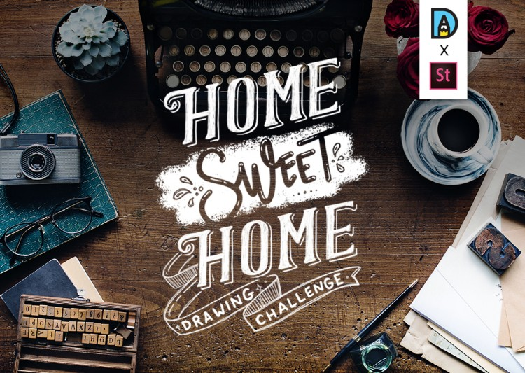 New Drawing Challenge! Home Sweet Home ♥ | Doodlers Anonymous