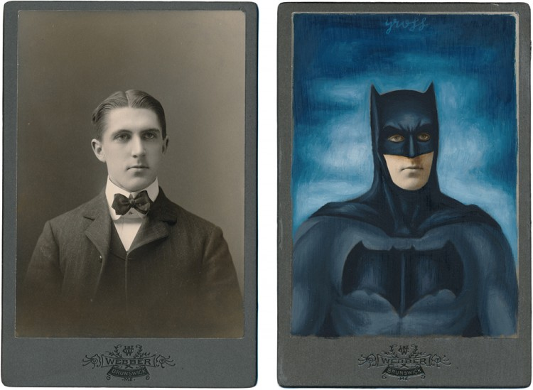 Antique Photographs Transformed Into Iconic Pop Culture Figures | Doodlers Anonymous
