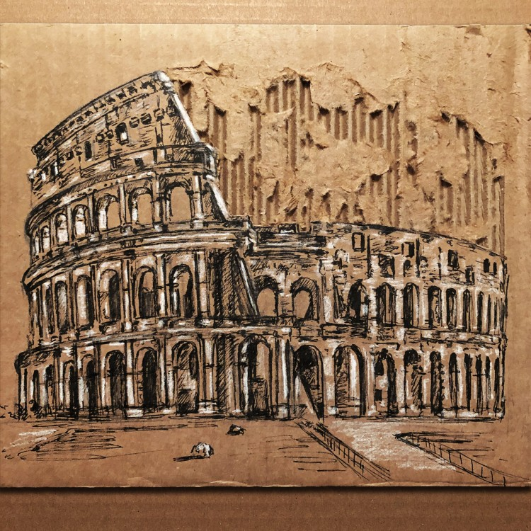 Cardboard Art | Doodlers Anonymous