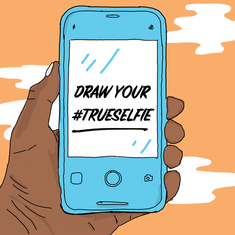 Submit Your Work: Draw Your #TrueSelfie Challenge | Doodlers Anonymous