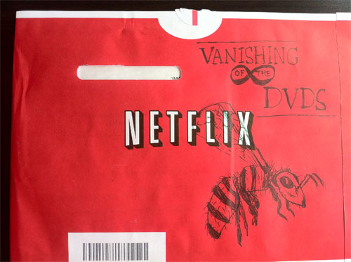 Netflix Envelope Doodle by Ryan Bucher
