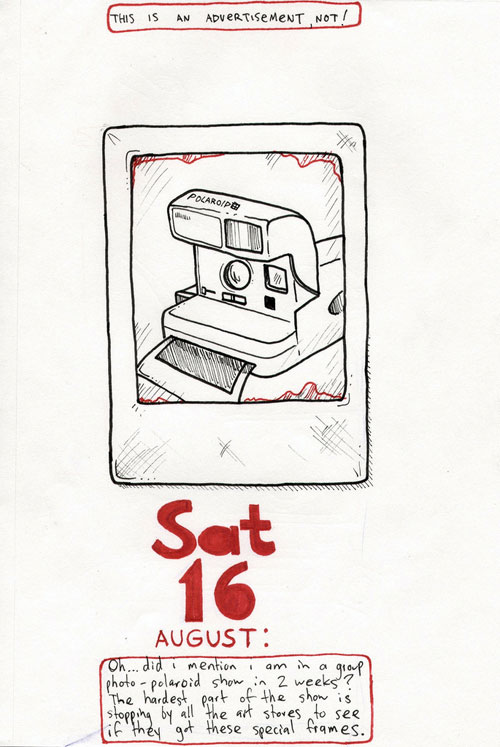 Polaroid Doodle by Question Josh