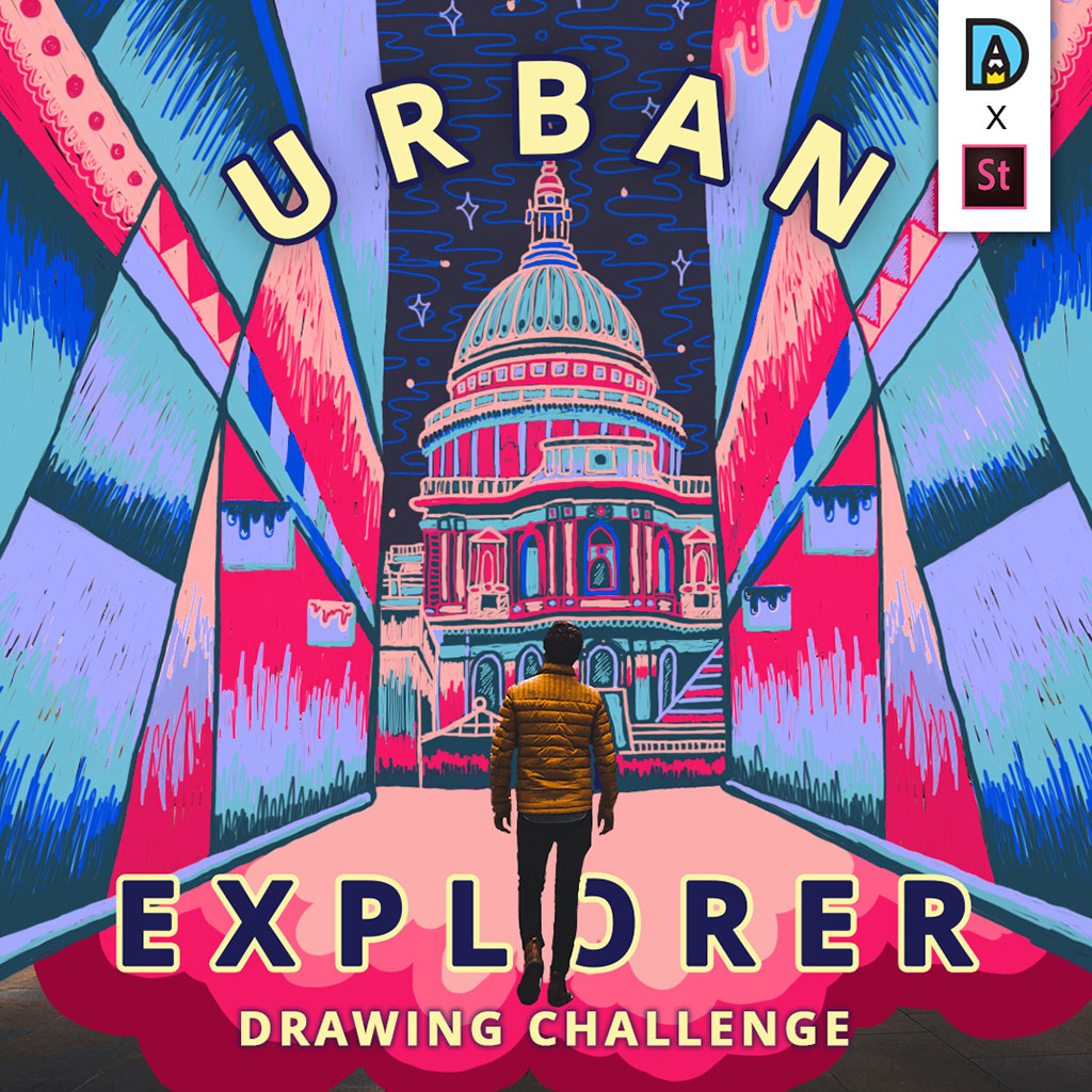 Urban Explorer Drawing Challenge