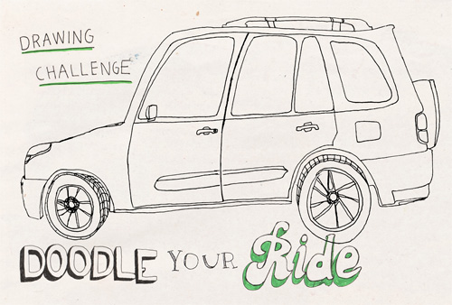 Doodle Your Ride