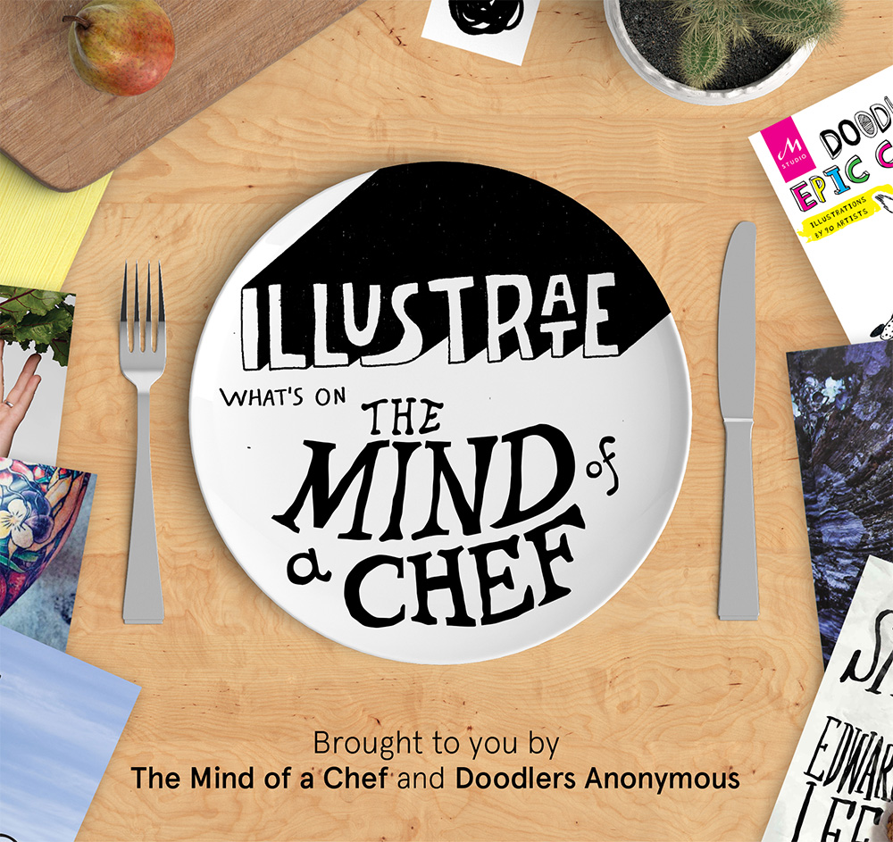Illustrate What's on the Mind of a Chef